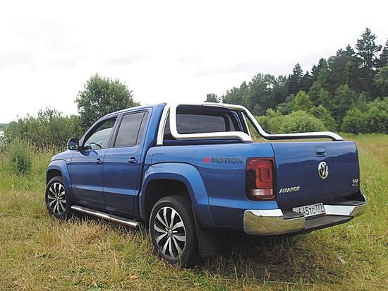 Тест-драйв пикапа Volkswagen Amarok