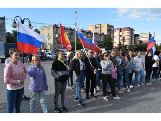 В Серпухове состоялся молодежный флеш-моб