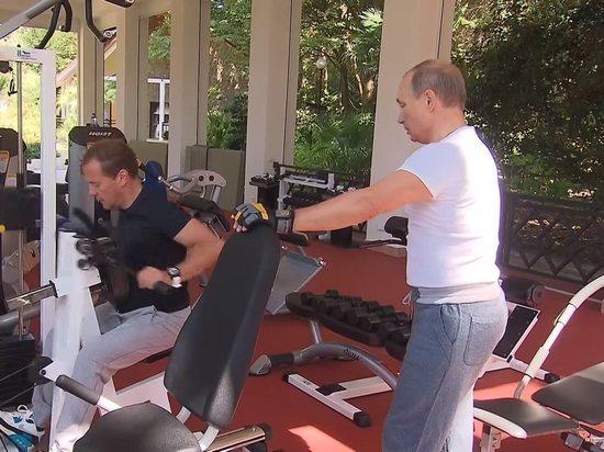 Странная спортивная травма премьер-министра: куда исчез Медведев