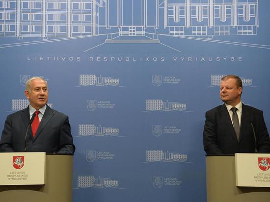 Премьер-министры Израиля и Литвы выступили с совместными заявлением