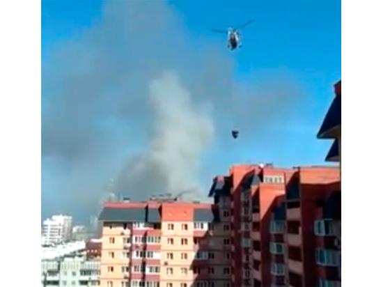 Пожар в элитном доме в Королеве: пострадала квартира профессора Дворкина