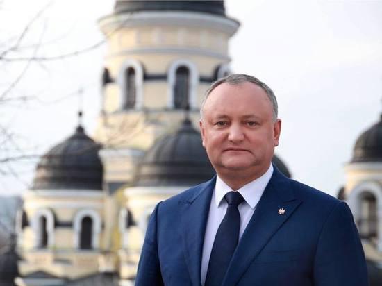 Президент Молдавии Додон отреагировал на протесты в Кишинёве