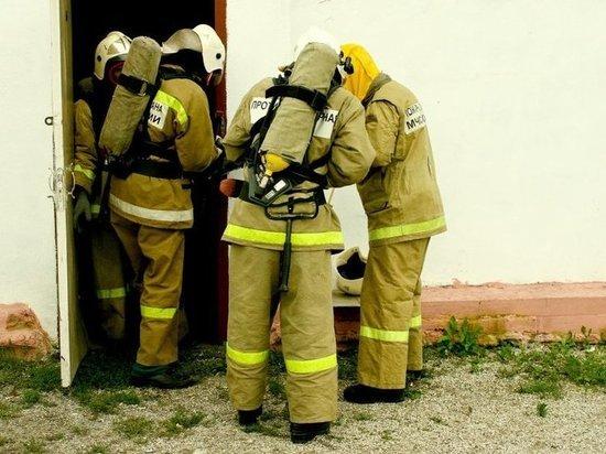 Пожар испортил приморцам выходные