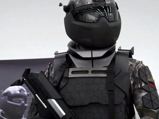 В России испытали новый экзоскелет: он делает солдат сильнее