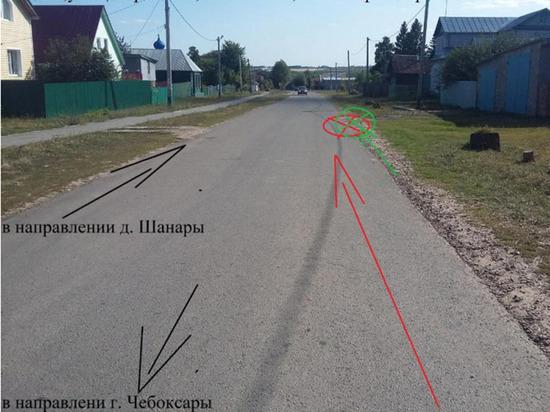 Водитель минивэна скрылся после смертельного ДТП в Чебоксарском районе