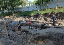 Кладбище XVII века нашли на территории нижегородского кремля