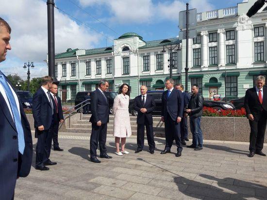 Фадина встретила Путина на улице Ленина