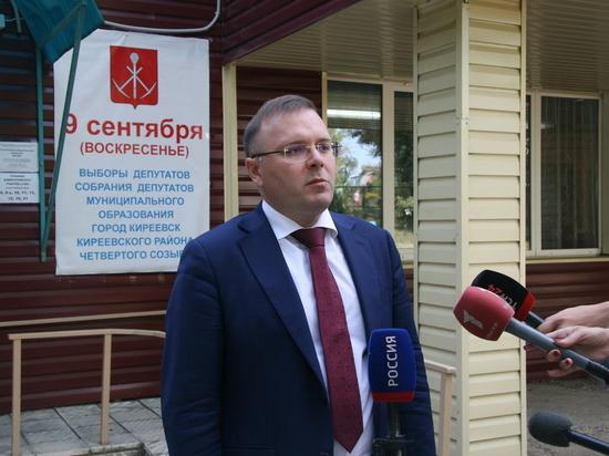 В Новомосковске Тульской области началось досрочное голосование