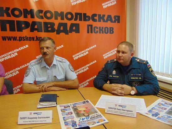 Начальник псковской ГИБДД раскрыл «Московскому комсомольцу» две «военные тайны»