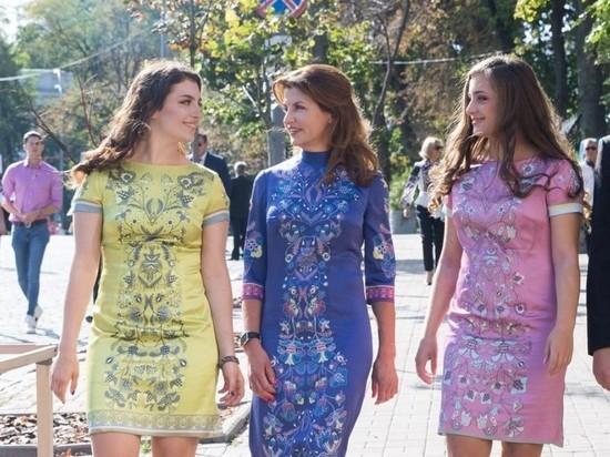 Дочери Порошенко непоступили вукраинские университеты