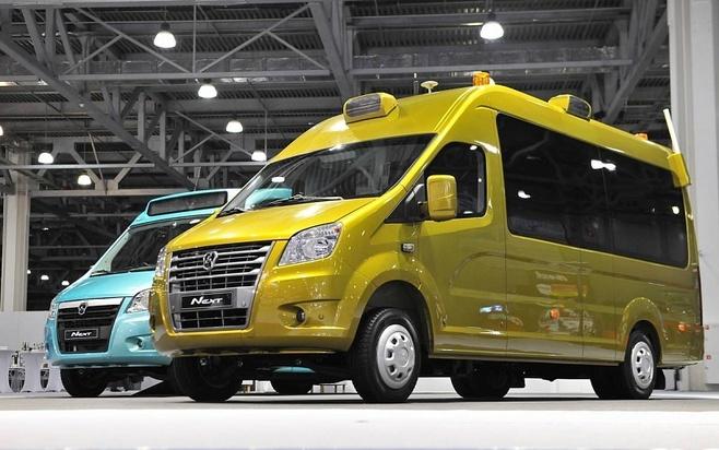 ГАЗ впервые представил беспилотные автомобили