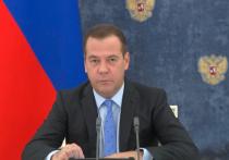 Появившийся на правительстве Медведев разговаривал странно