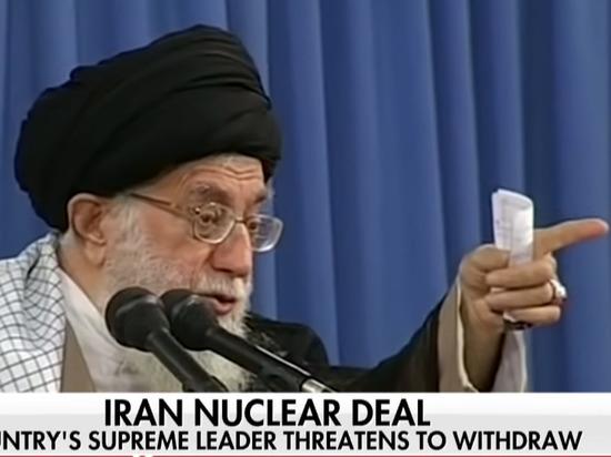 СМИ: духовный лидер Ирана пригрозил выходом из ядерных соглашений