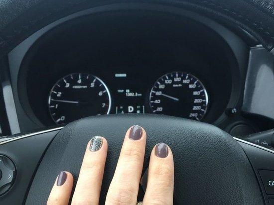 Женщина за рулем наделала шуму во Владивостоке
