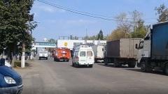 Опубликовано видео с проходной оборонного завода в Дзержинске