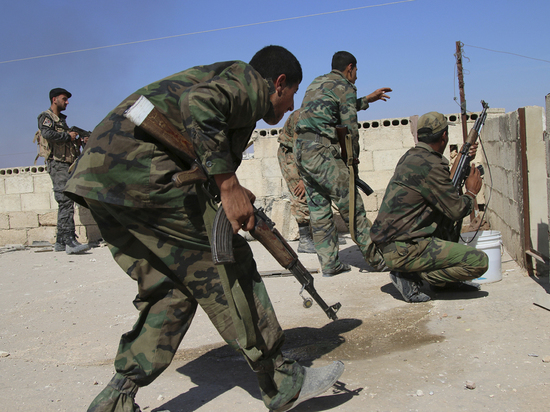Произошло боестолкновение войск Сирии с боевиками
