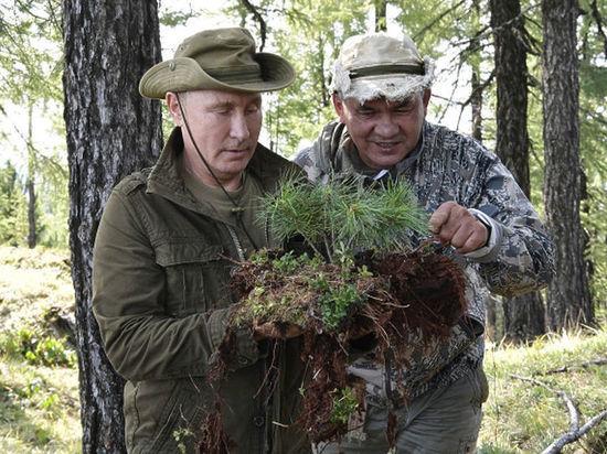 Появилось новое экстремальное видео об отдыхе российского лидера