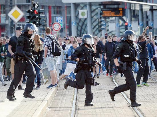 Кровавые столкновения в немецком Хемнице: ранен гражданин России
