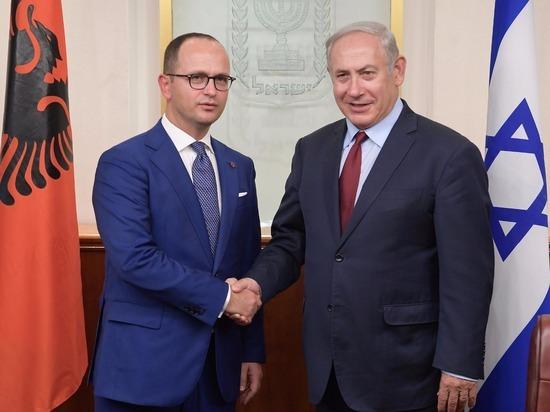 Биньямин Нетаниягу встретился с министром иностранных дел Албании