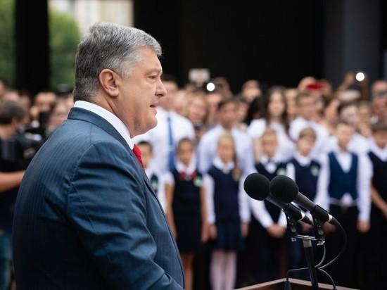 Порошенко рассказал школьникам о готовности украинцев воевать