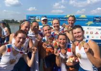 Астраханка завоевала золотую медаль на первенсве Первенстве Европы по академической гребле