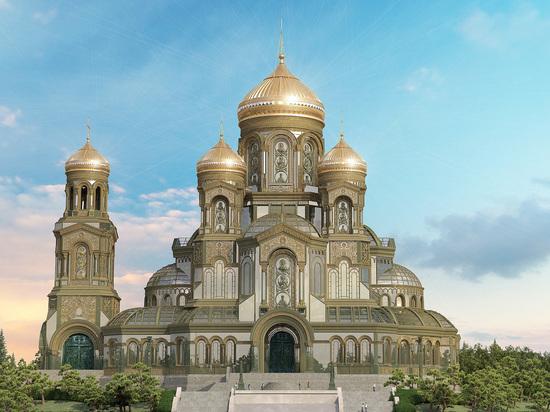 Главный храм Вооруженных сил построят в парке «Патриот»