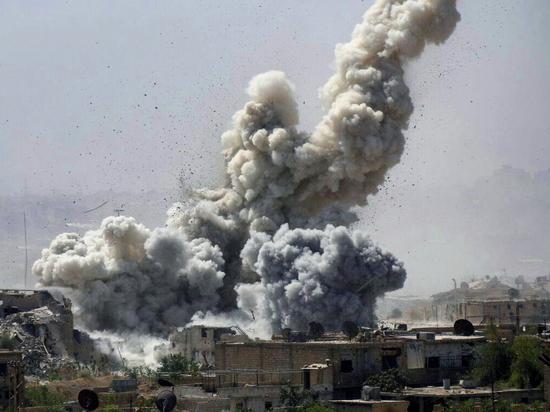 Армия Асада громит террористов в Идлибе