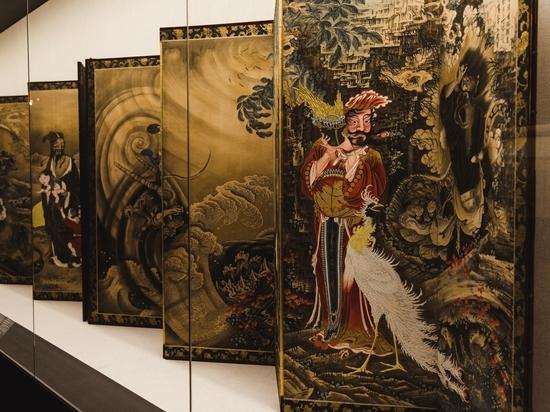 В музее имени Пушкина открылась выставка японской живописи эпохи Эдо