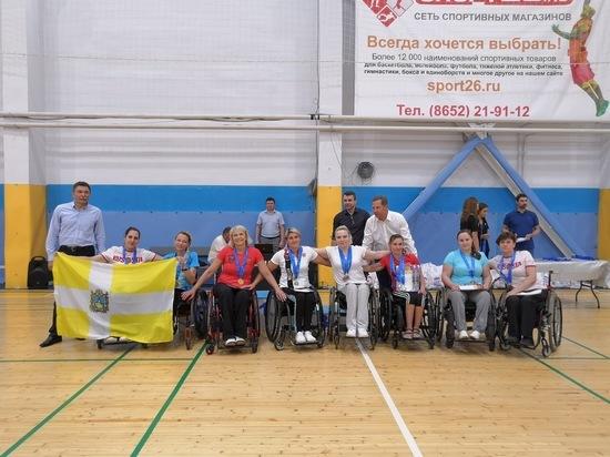 В Ставрополе прошёл второй этап Кубка России по парабадминтону