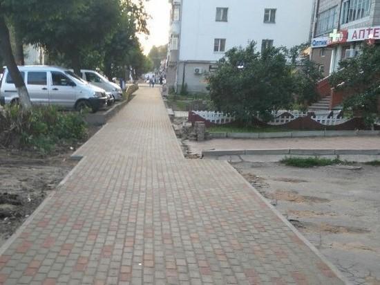 Кировчан шокировали фигурные тротуары
