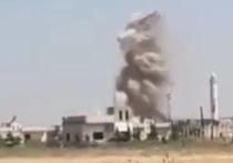 Российские самолеты отбомбились по объектам террористов в провинции Идлиб