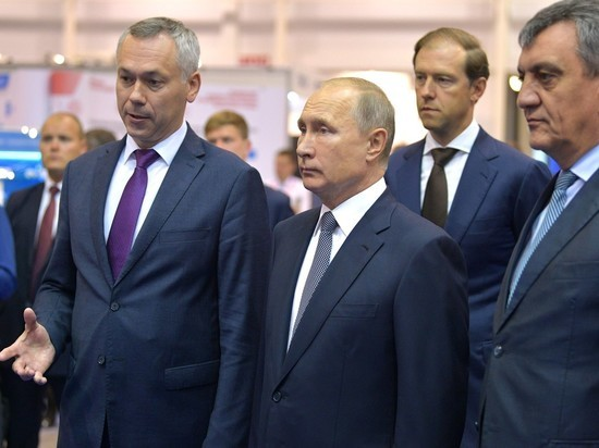 Глава государства посетил Новосибирскую область с рабочим визитом