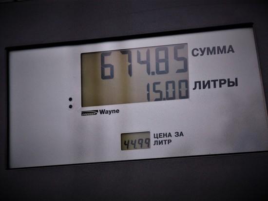 Бензин в Карелии дорожал на неделе