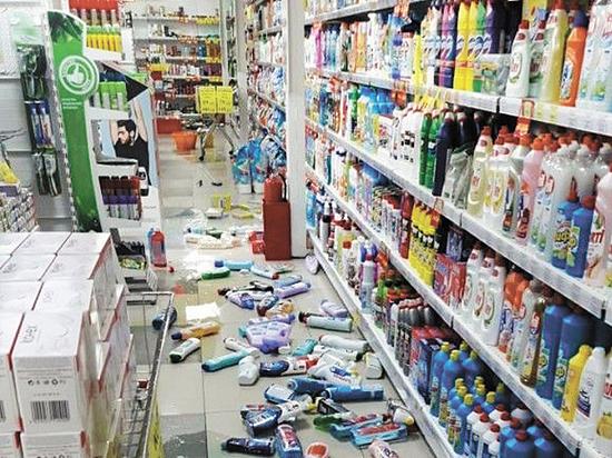 Землетрясение особо напугало живущих рядом с