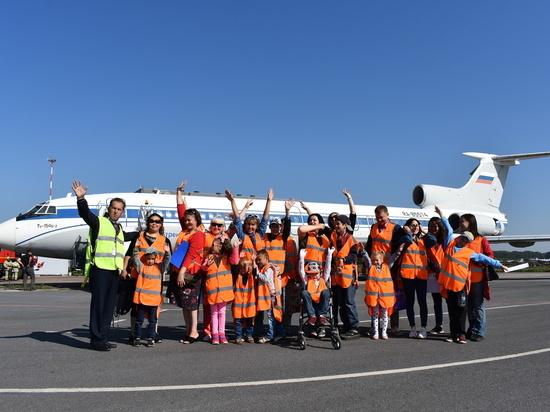 Аэропорт «Уфа» провел экскурсию для детей