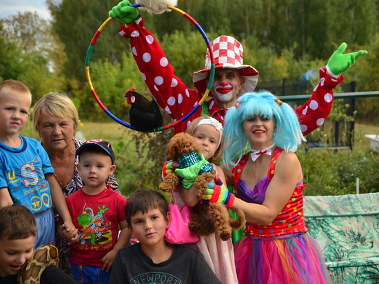 Мини-цирк семьи Горбенко