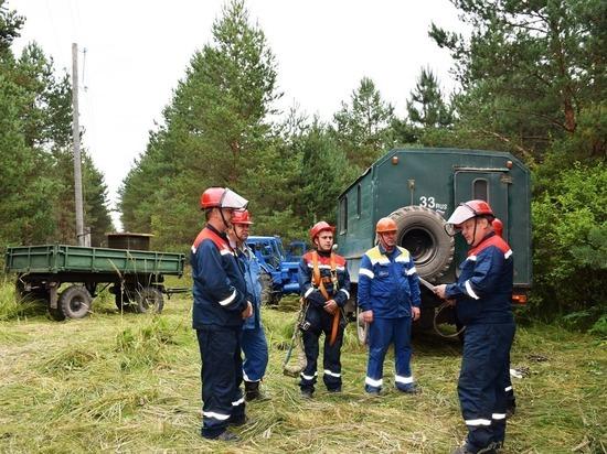 Александровские энергетики ведут подготовку к осенне-зимнему периоду