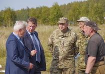Сенатор Совфеда РФ Андрей Епишин побывал в полях под Ржевом