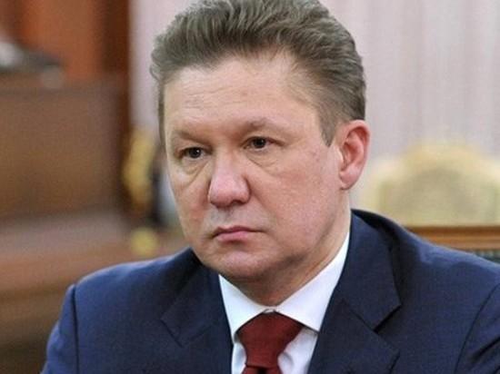 Директор  «Газпрома» Миллер попал вДТП в столице