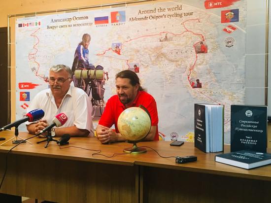Тамбовский путешественник Александр Осипов отправится на велосипеде в Северную Америку