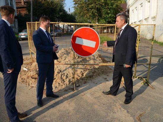 Алексей Смирнов поручил в кратчайшие сроки восстановить дорогу на улице Горной