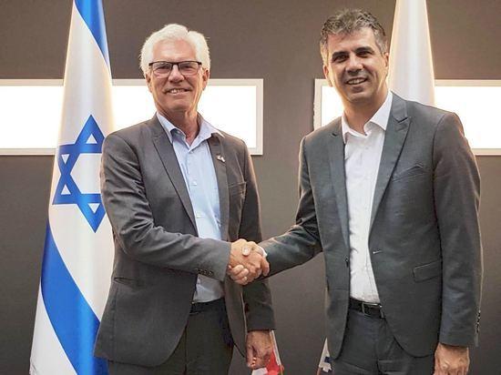 Канадский министр международной торговли прибыл в Израиль