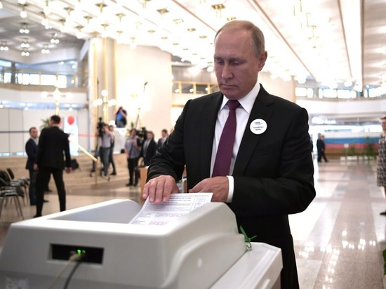КОИБ дважды не принял бюллетень Путина