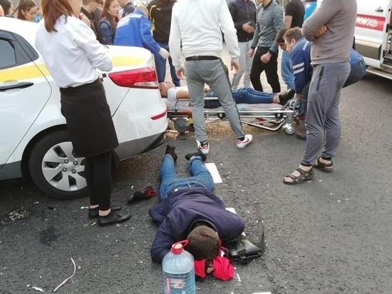 Водитель, сбивший толпу людей в Марьино, был пьян: подробности ДТП