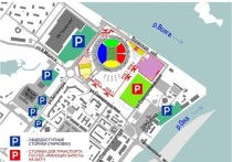 Опубликована информация о парковках на матче Россия – Сербия