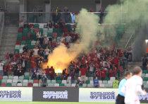 Болельщики сборной Белоруссии во время матча Лиги наций с Сан-Марино решили подержать своих игроков, выкрикивая «Кто не скачет, тот москаль!»