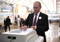 Путин поздравил Собянина с переизбранием на должность мэра Москвы