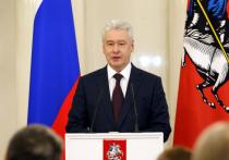 Собянин набирает 70,02% голосов на выборах мэра Москвы