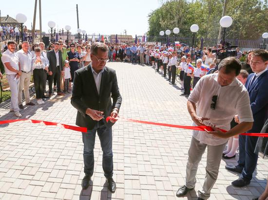 В Астраханской области капитально отремонтировали школу, в которой учился губернатор Жилкин
