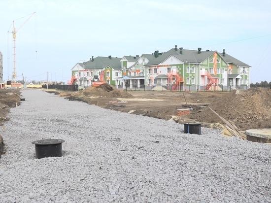 В Тамбове строят дорогу к новому детскому саду
